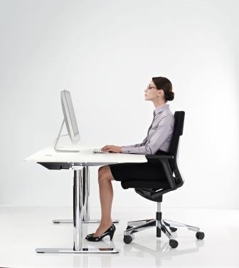 Computerbrillen - Multifocaal houding