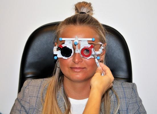 Werkwijze brillen stap 3